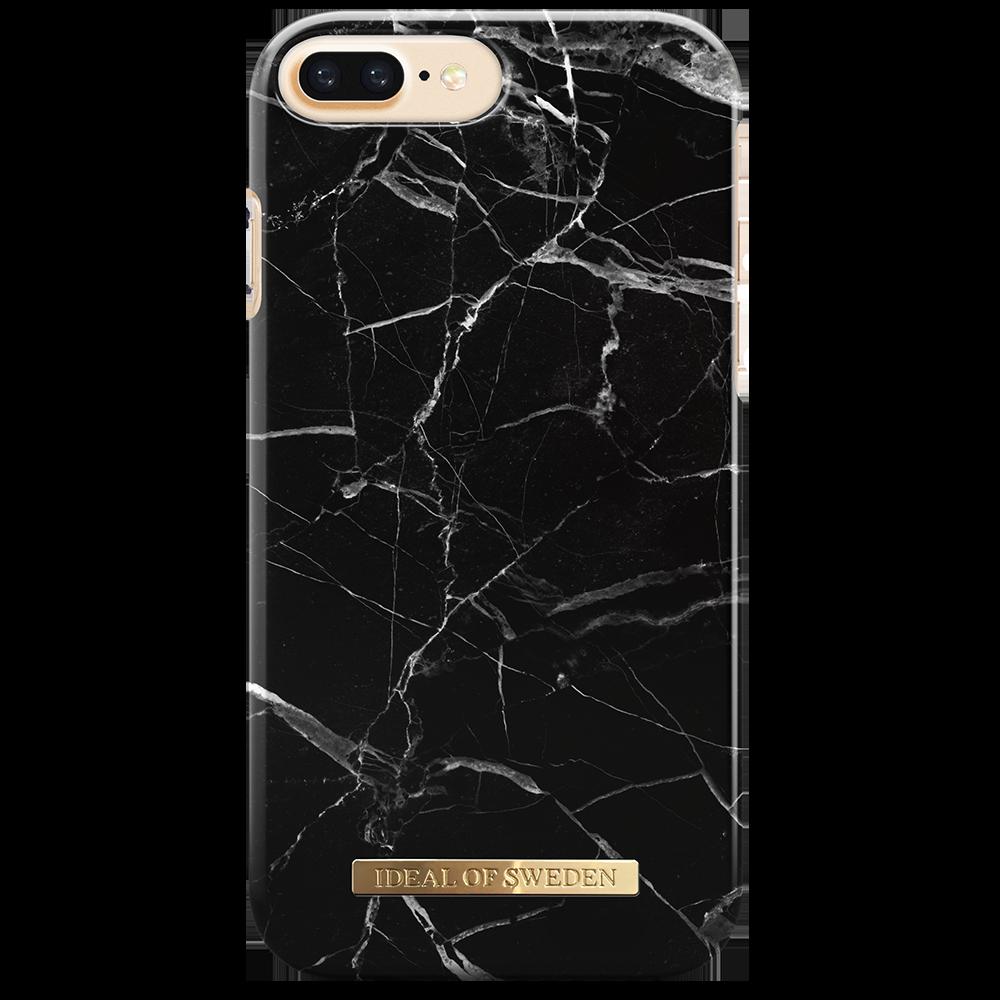 Fashion Case iPhone 6/6S/7/8 Plus Black Marble