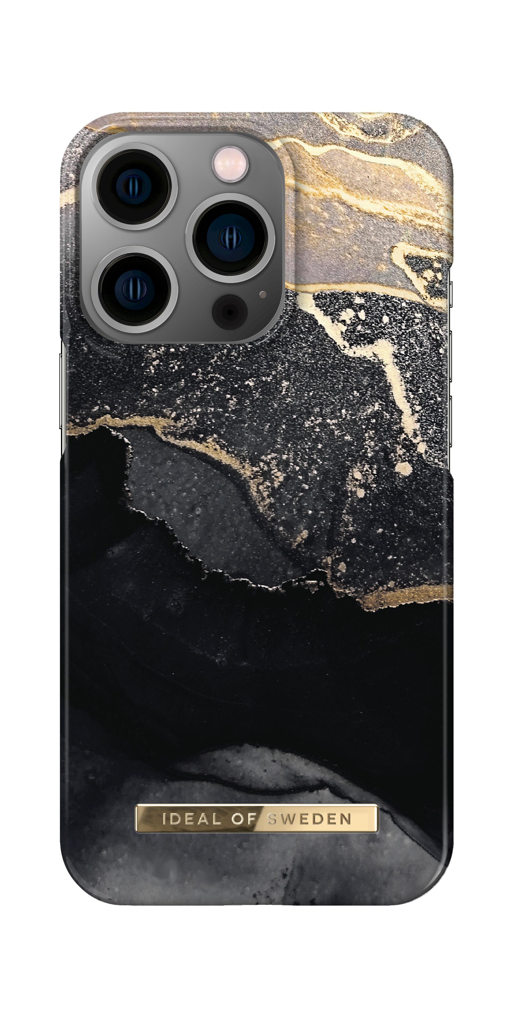 Fashion Case iPhone 13 Pro Golden Twilight Marble