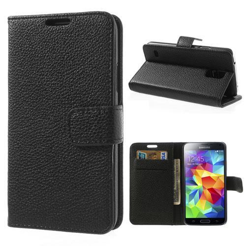 Plånboksfodral Samsung Galaxy S5/S5 Neo svart