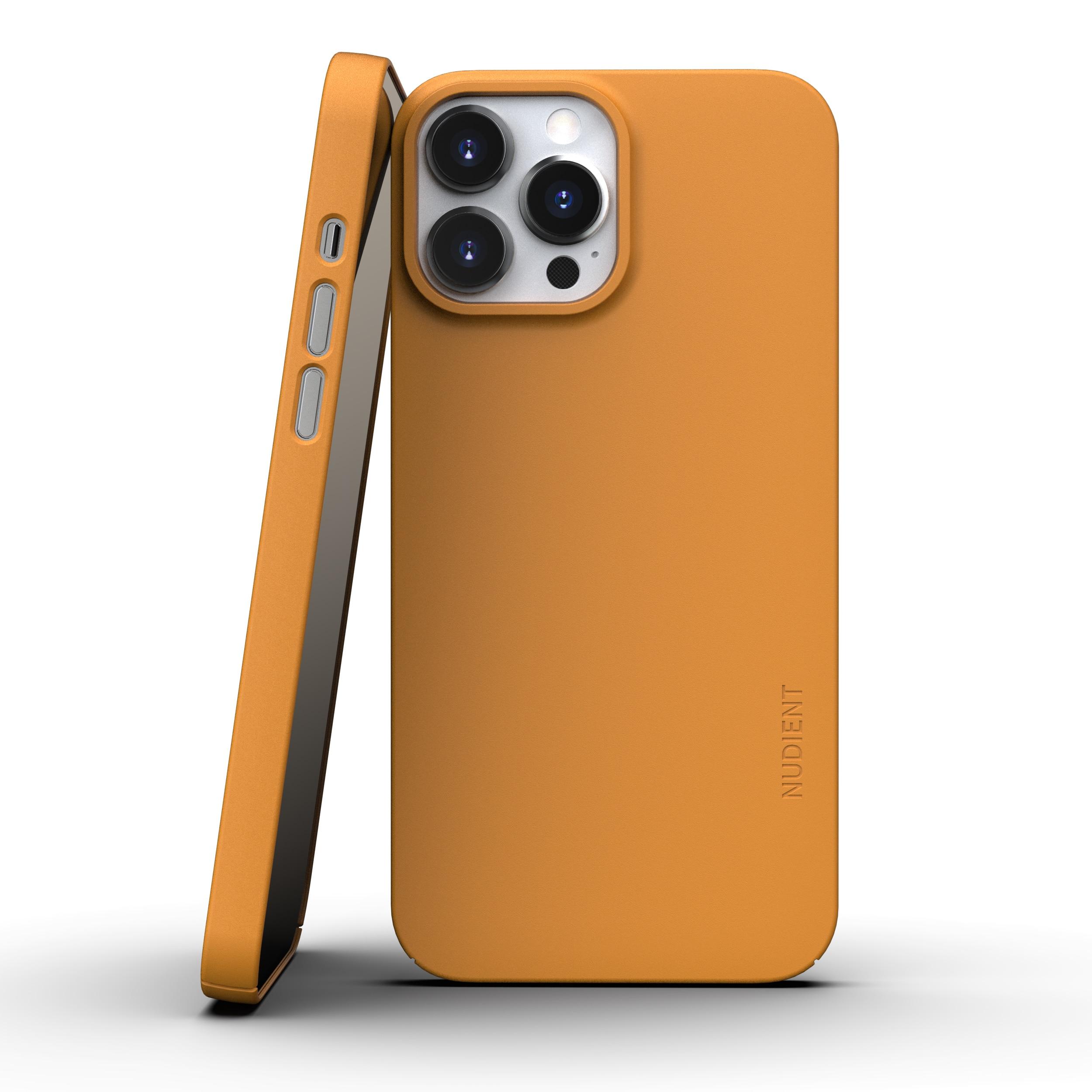 Thin Case V3 iPhone 13 Pro Saffron Yellow