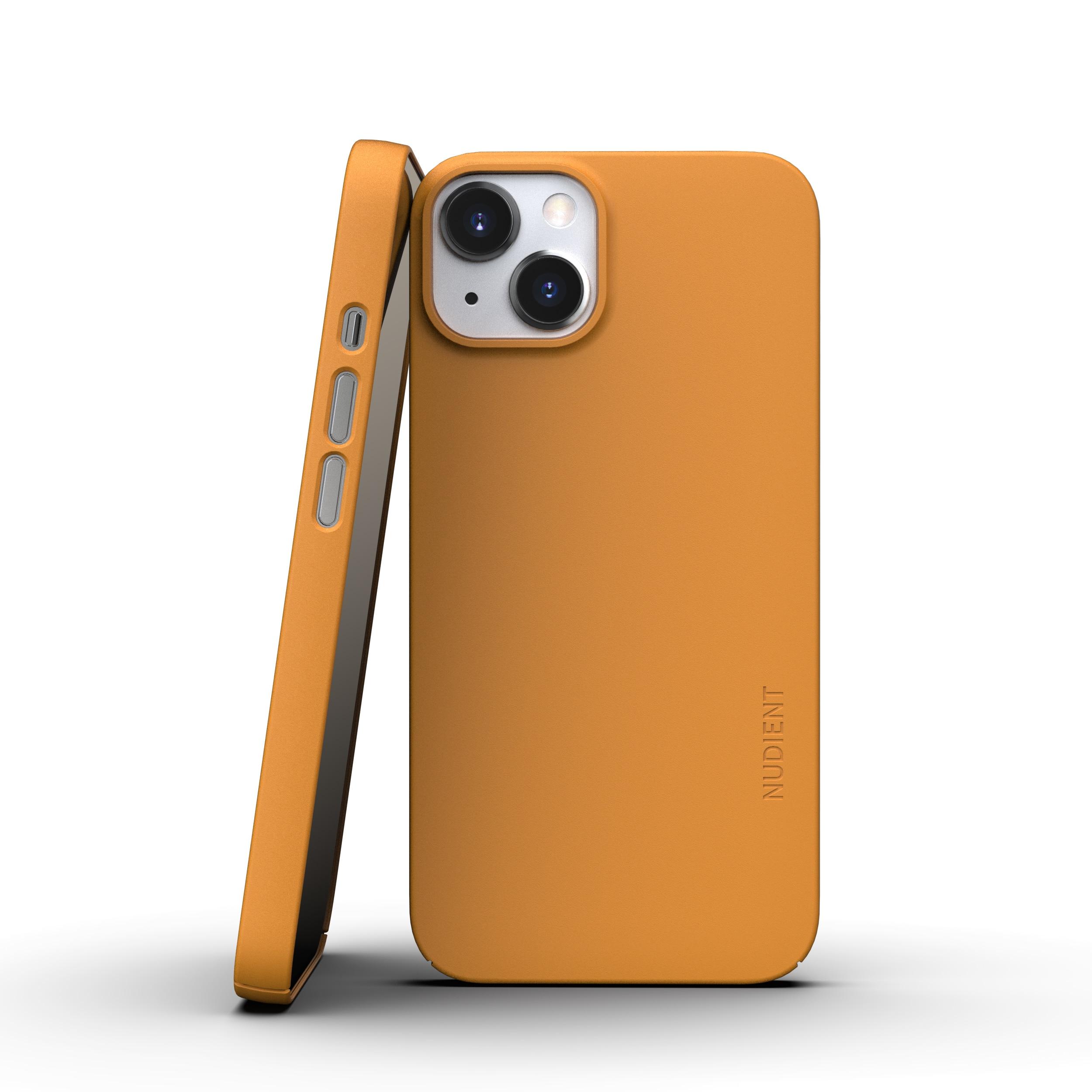 Thin Case V3 iPhone 13 Mini Saffron Yellow