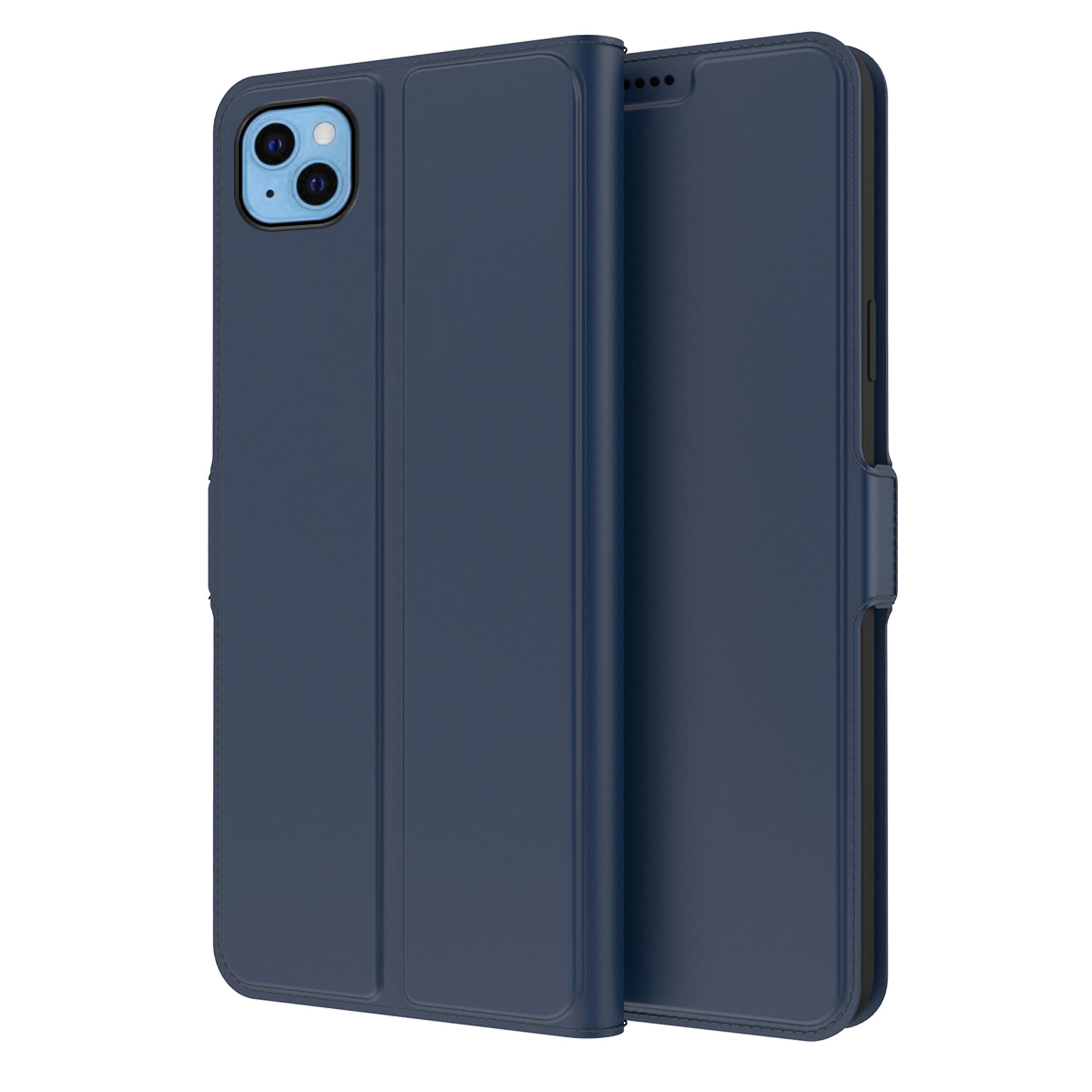 Slim Card Wallet iPhone 13 marinblå