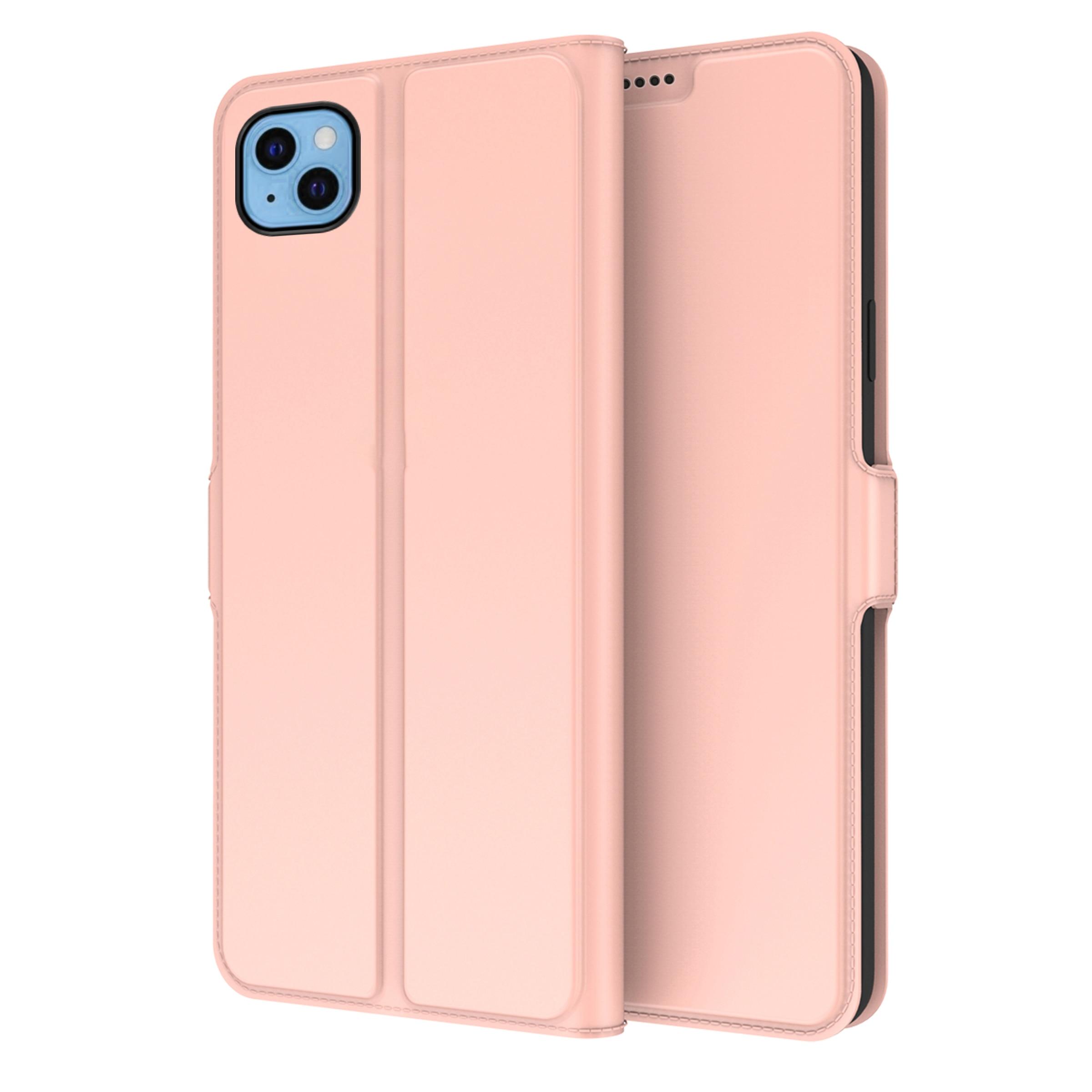 Slim Card Wallet iPhone 13 roséguld