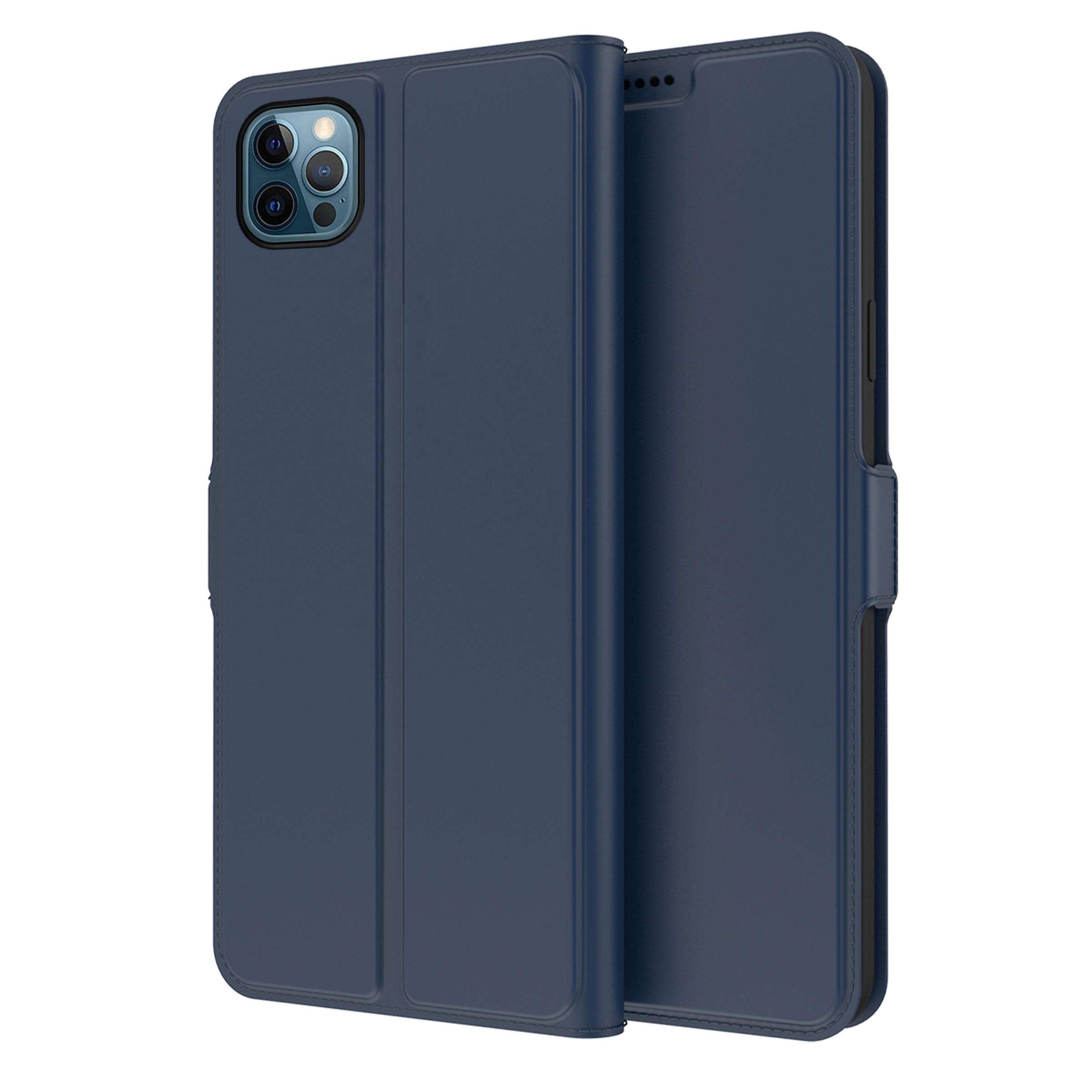 Slim Card Wallet iPhone 13 Pro marinblå