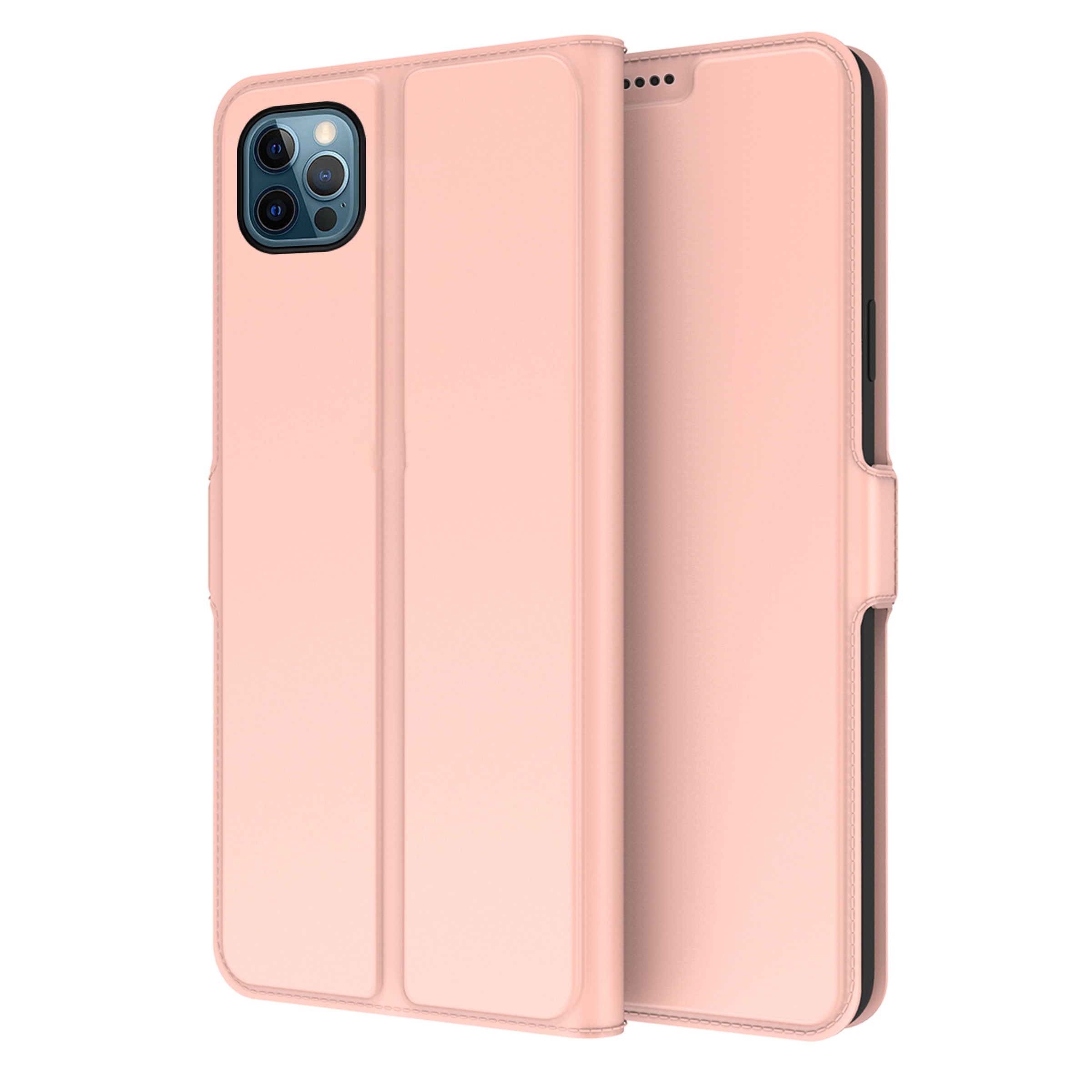 Slim Card Wallet iPhone 13 Pro roséguld