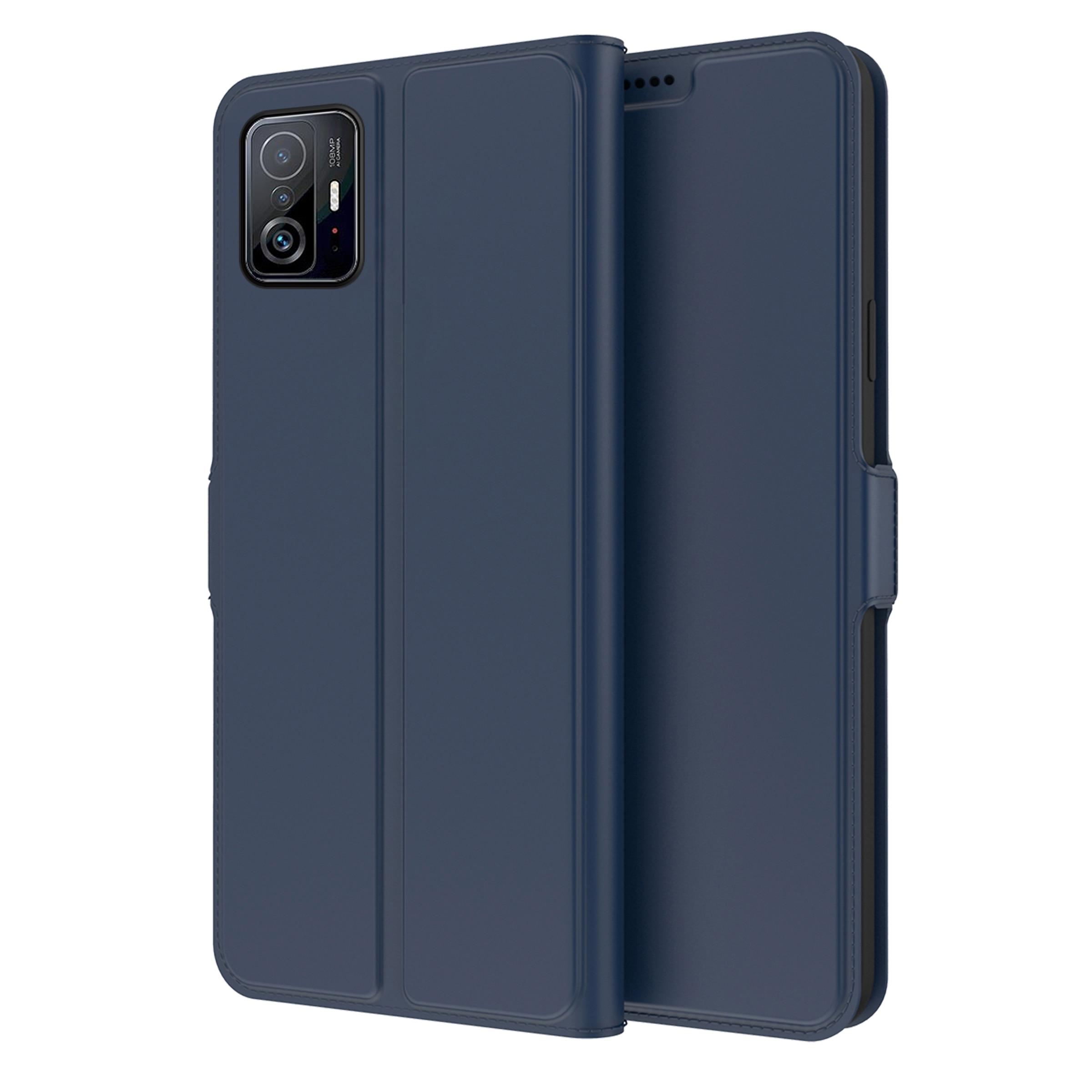 Slim Card Wallet Xiaomi 11T/11T Pro marinblå