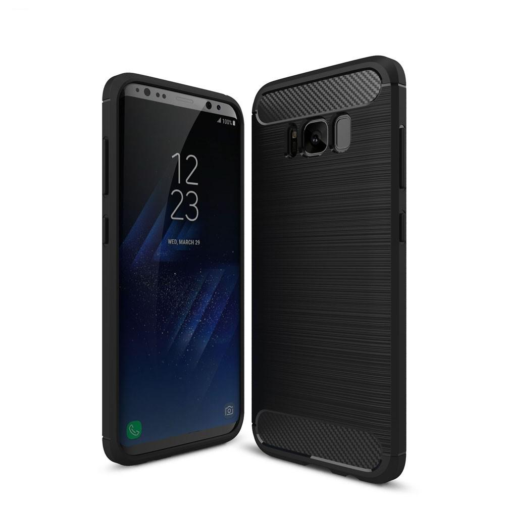 Brushed TPU Case for Samsung Galaxy S8 black