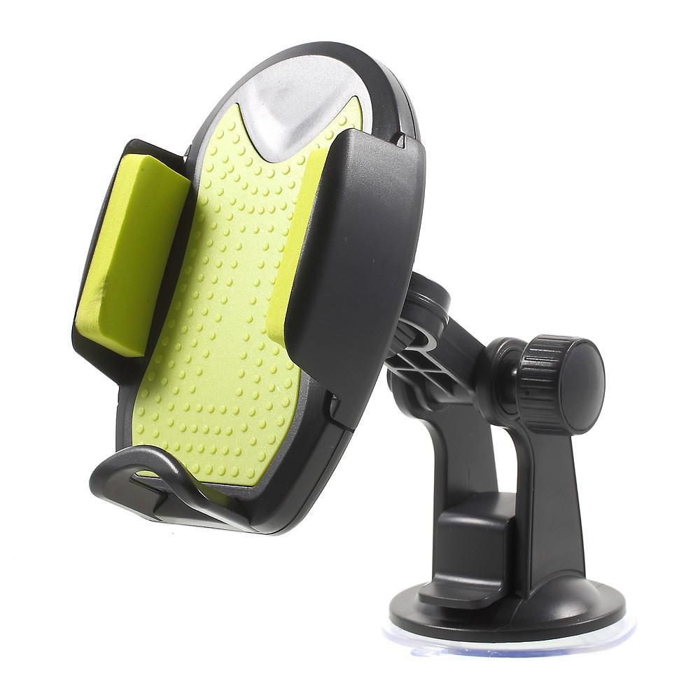 Kompakt Bilhållare för smartphones - Svart/grön
