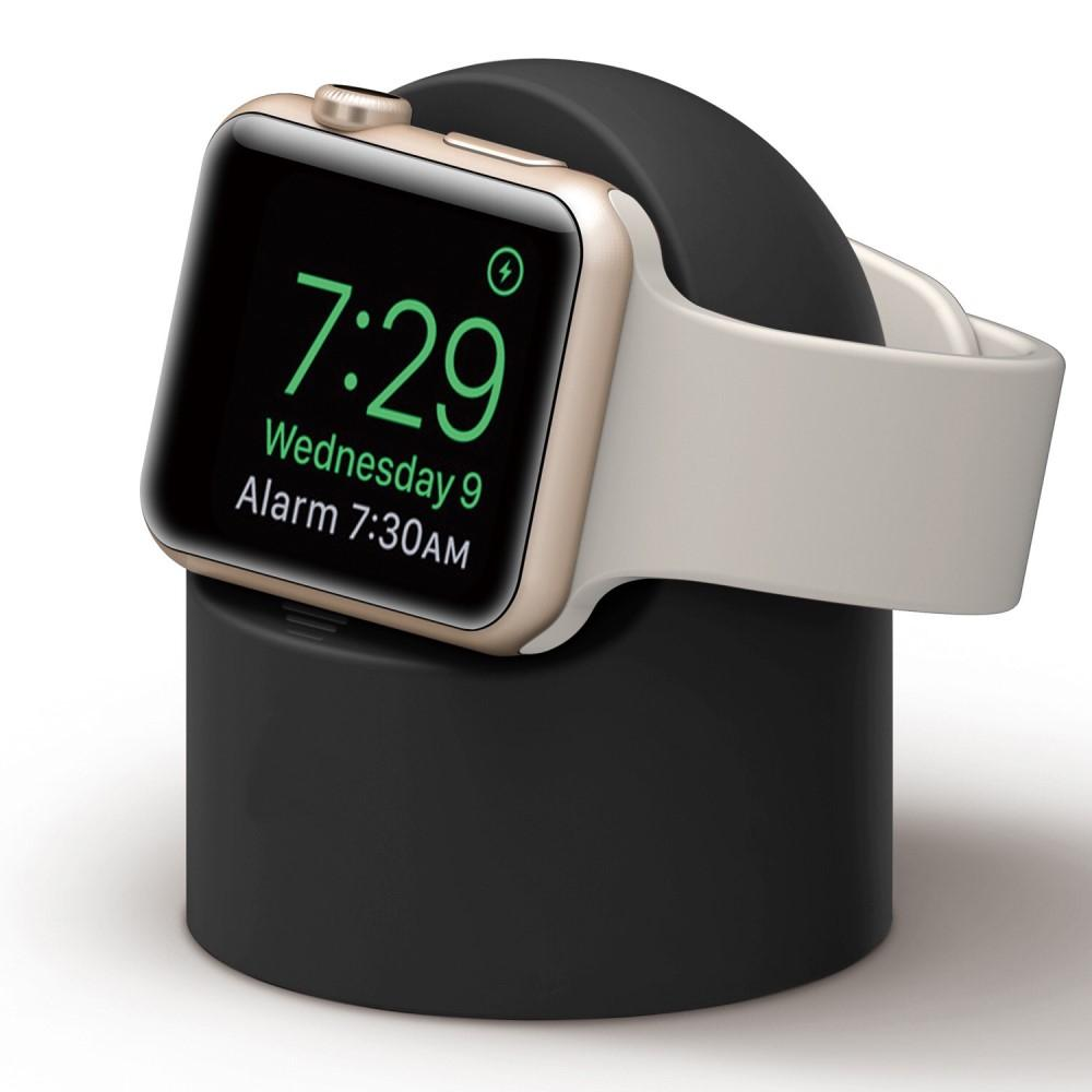 Laddningsställ Apple Watch svart