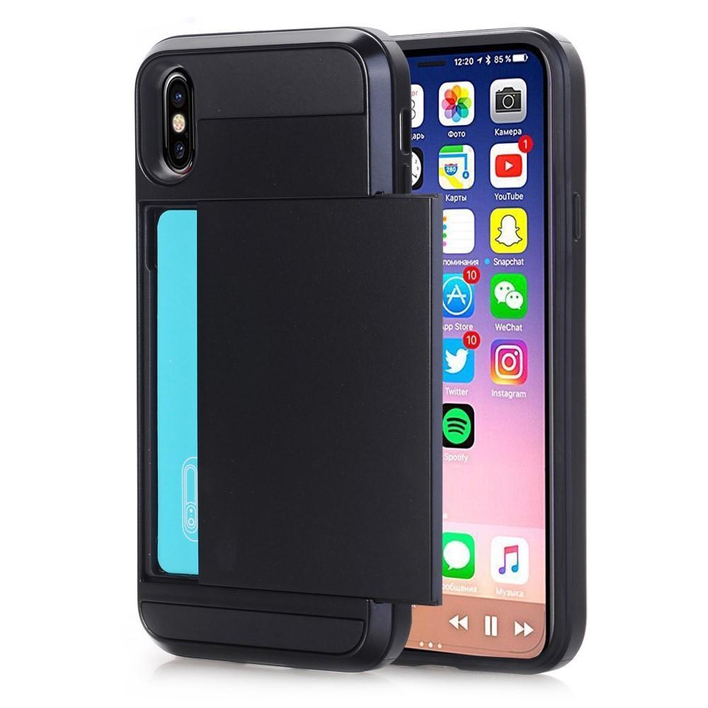 Skal Kortfack iPhone X/XS svart
