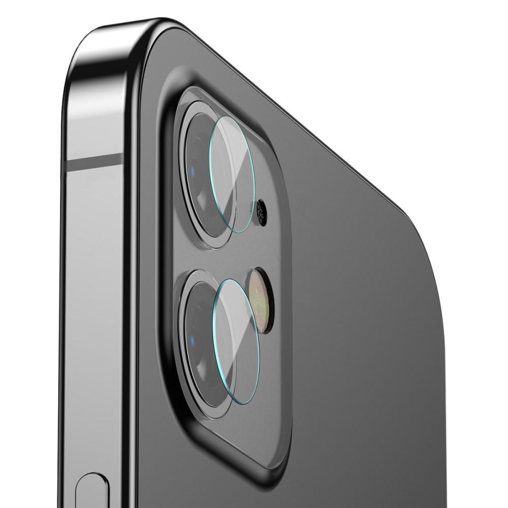 0.25mm Härdat Glas Linsskydd iPhone 12/12 Mini (2-pack)