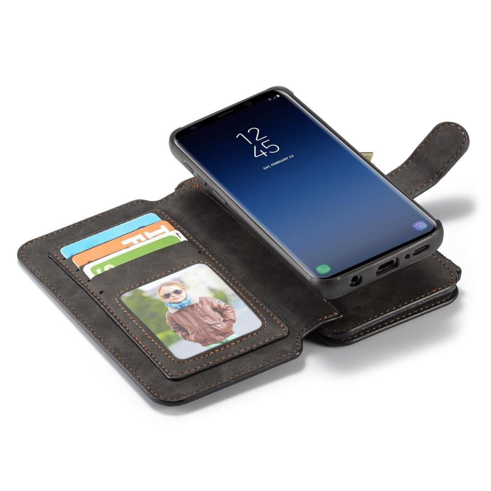 Multi-slot Flipfodral Samsung Galaxy S9 grå