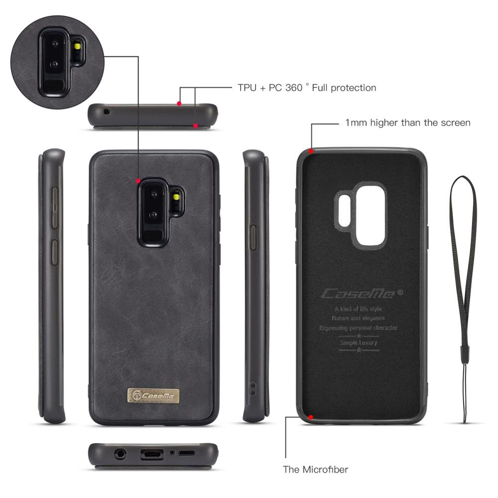 Multi-slot Flipfodral Samsung Galaxy S9 Plus grå