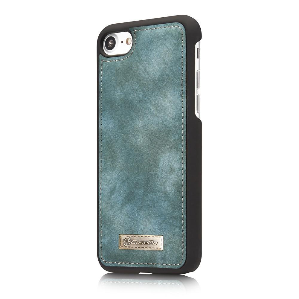 Multi-slot Plånboksfodral iPhone 7/8/SE 2020 blå