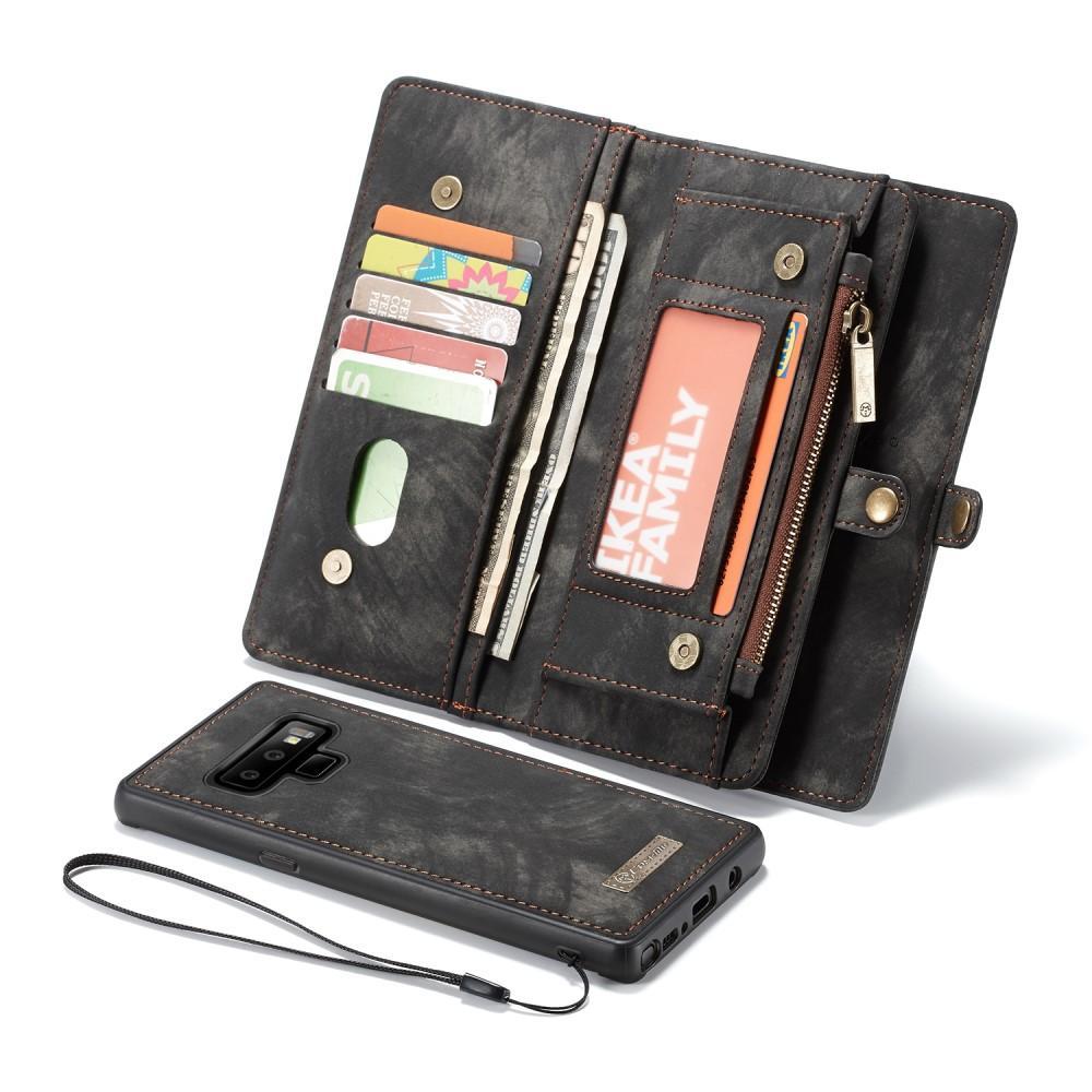 Multi-slot Plånboksfodral Galaxy Note 9 grå