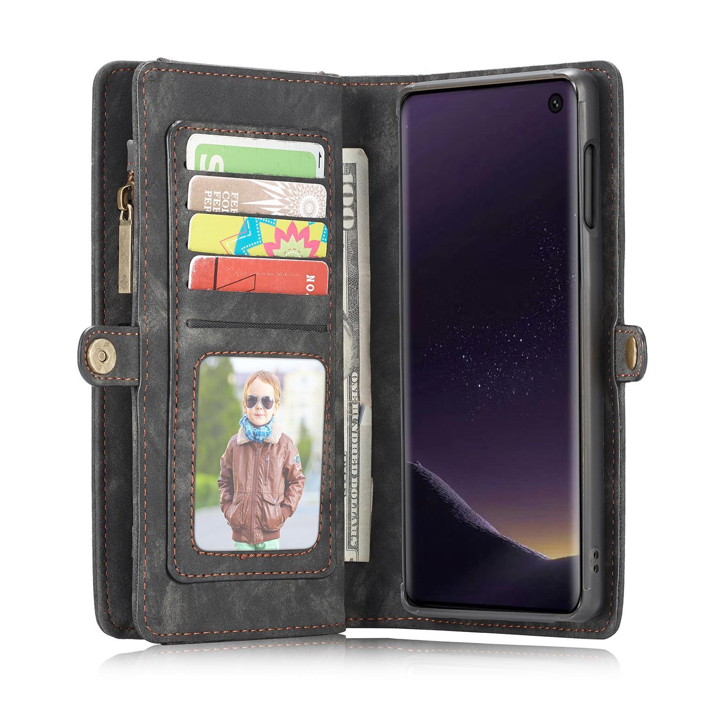 Multi-slot Plånboksfodral Galaxy S10e grå