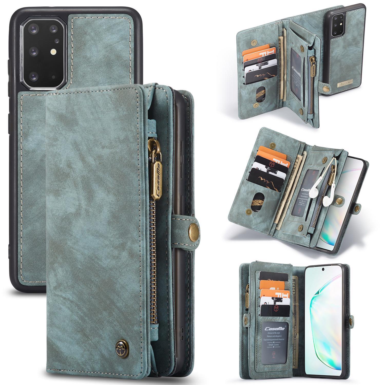 Multi-slot Plånboksfodral Galaxy S20 Plus blå