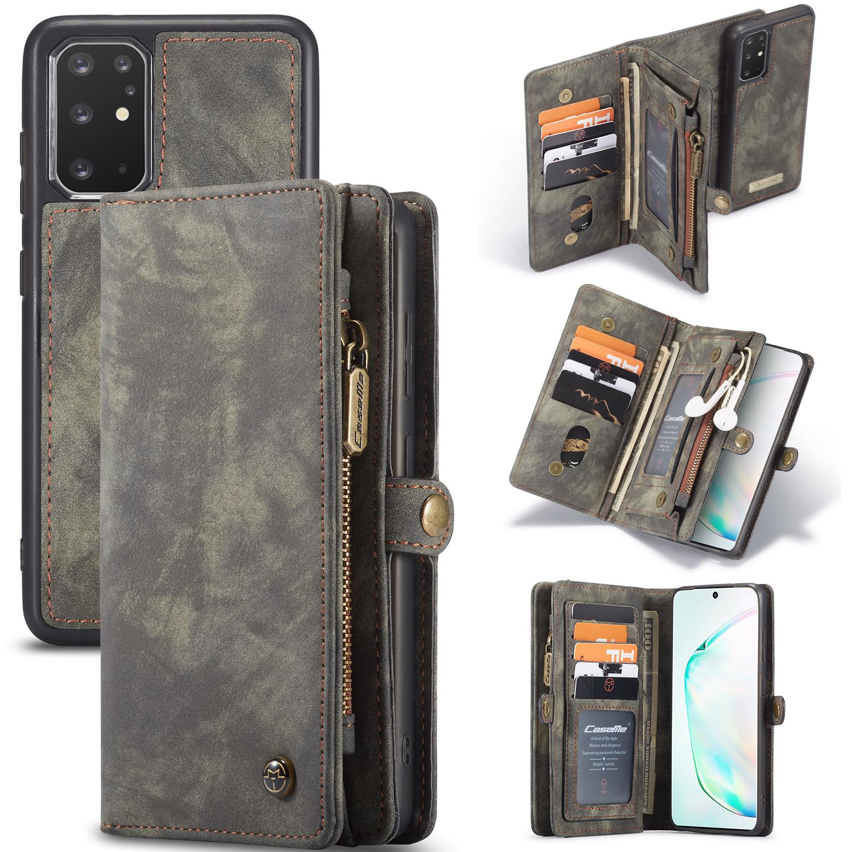Multi-slot Plånboksfodral Galaxy S20 Plus grå