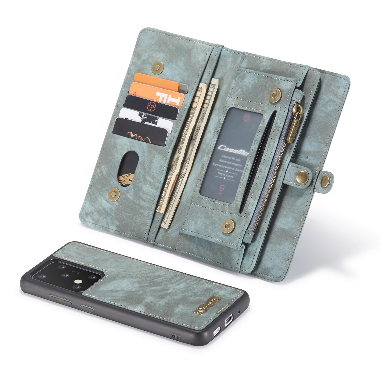 Multi-slot Plånboksfodral Galaxy S20 Ultra blå
