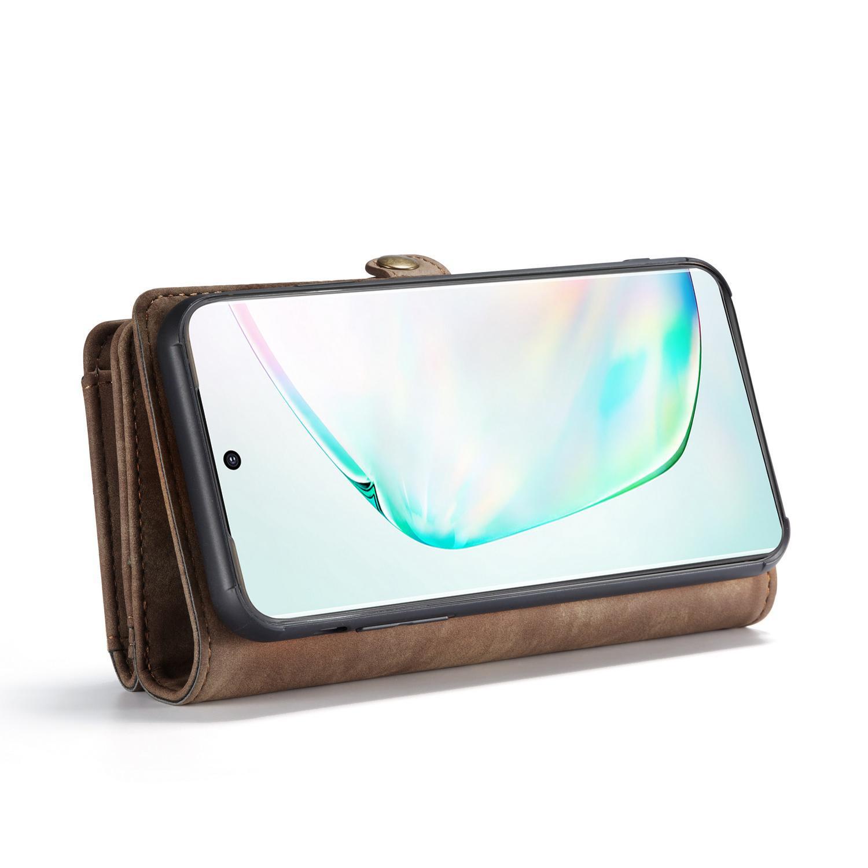 Multi-slot Plånboksfodral Galaxy S20 Ultra brun
