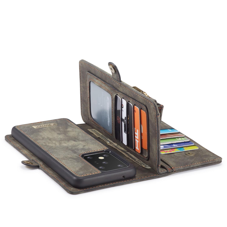Multi-slot Plånboksfodral Galaxy S20 Ultra grå