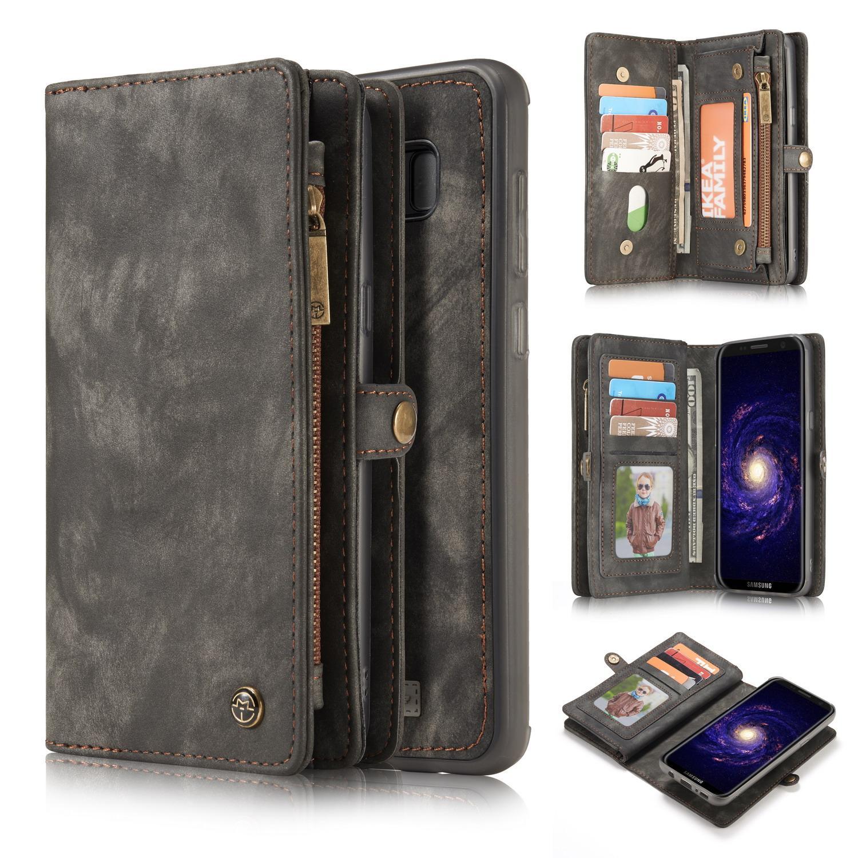 Multi-slot Plånboksfodral Galaxy S8 Plus grå