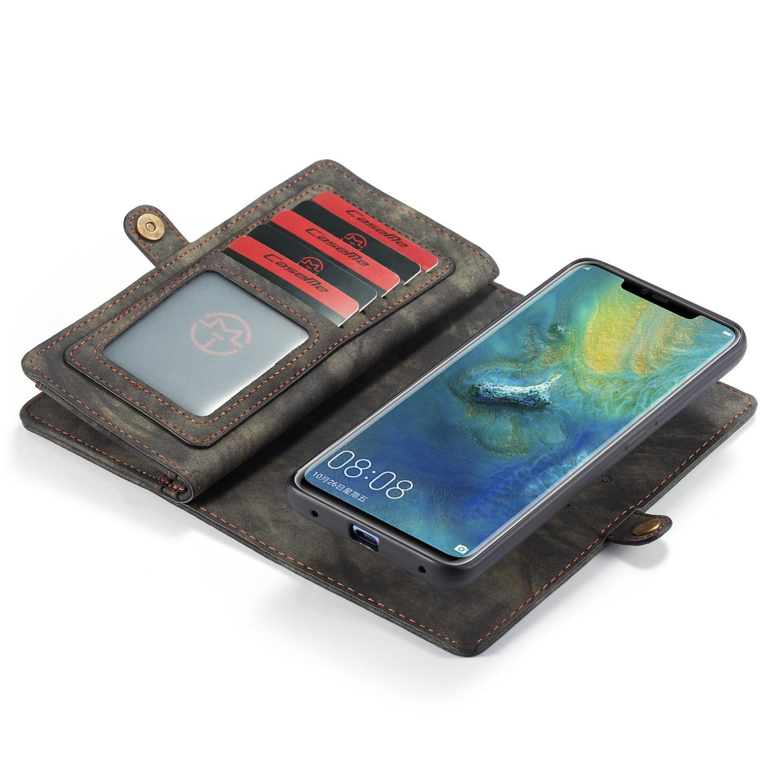 Multi-slot Plånboksfodral Huawei Mate 20 Pro grå