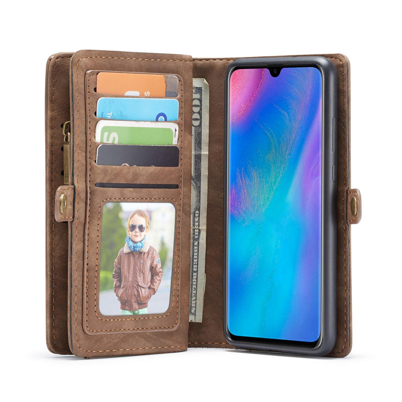 Multi-slot Plånboksfodral Huawei P30 brun