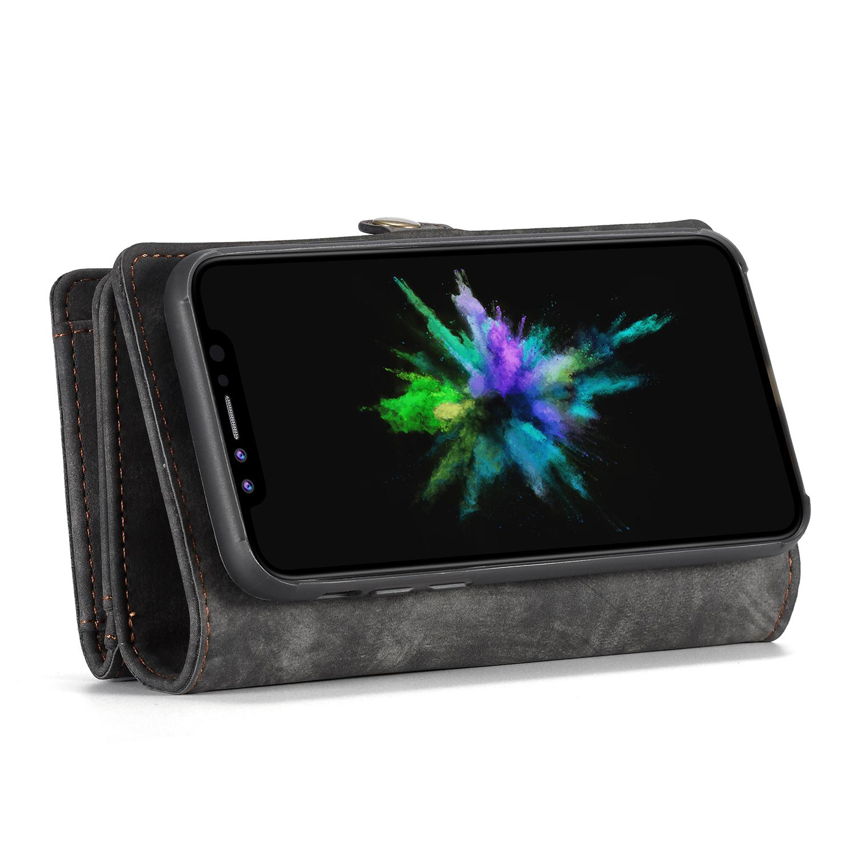 Multi-slot Plånboksfodral iPhone X/XS grå