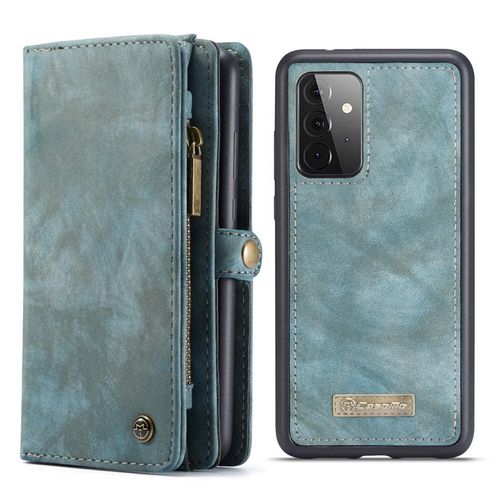 Multi-slot Plånboksfodral Galaxy A72 5G blå