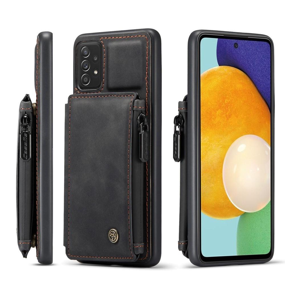 Multi-slot Skal Galaxy A52 svart