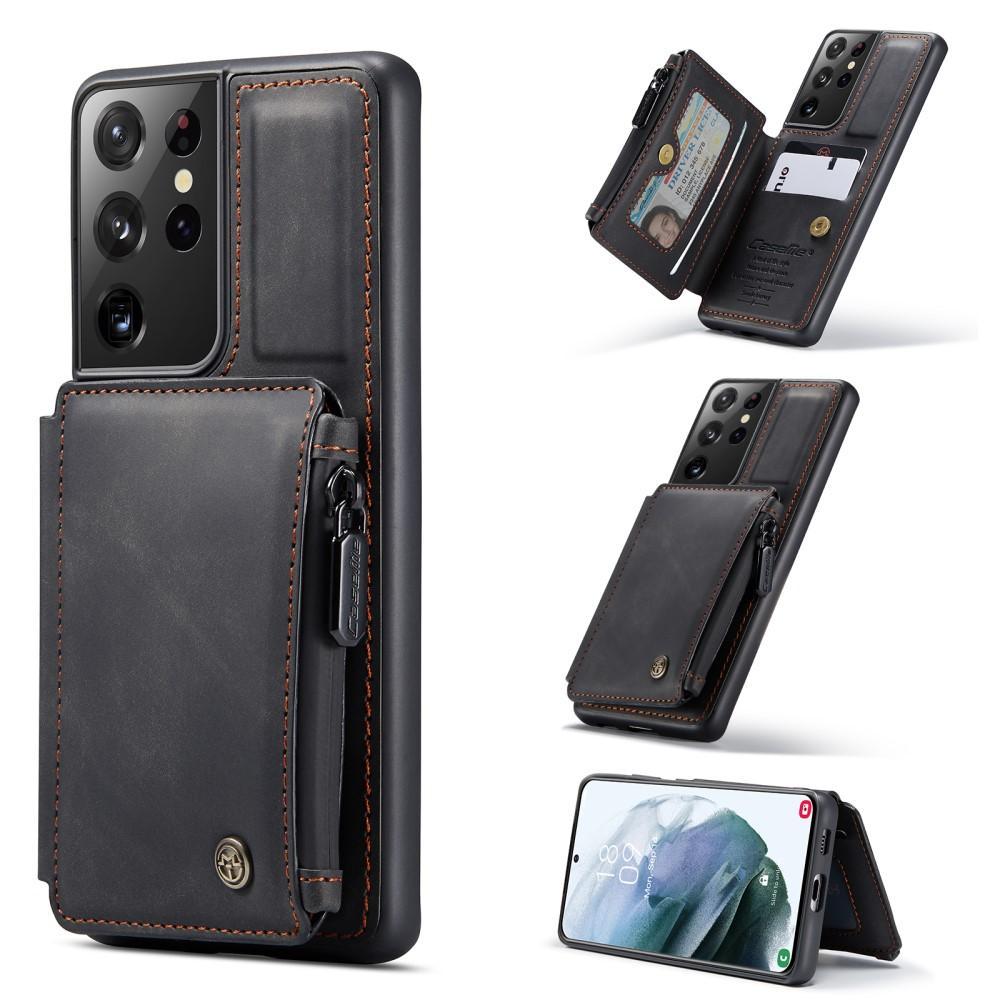 Multi-slot Skal Galaxy S21 Ultra svart