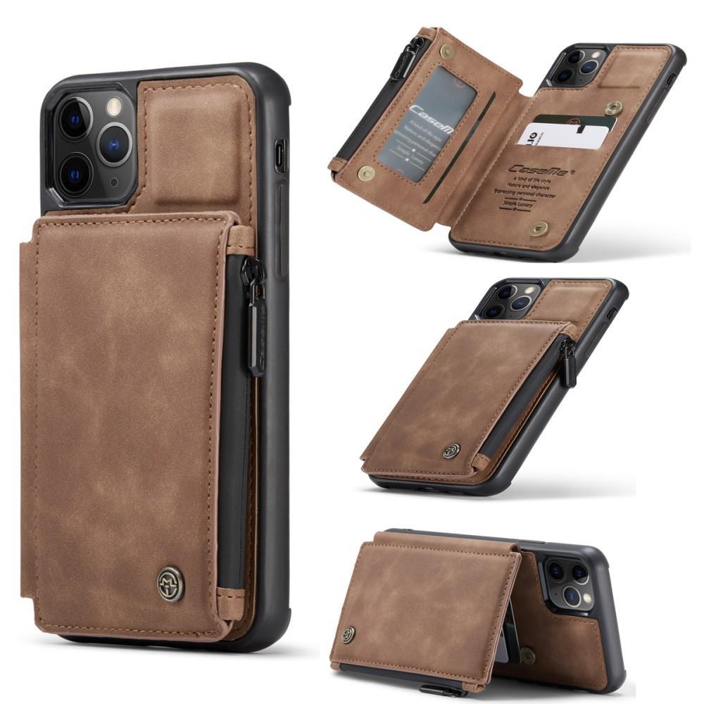 Multi-slot Skal iPhone 11 Pro brun