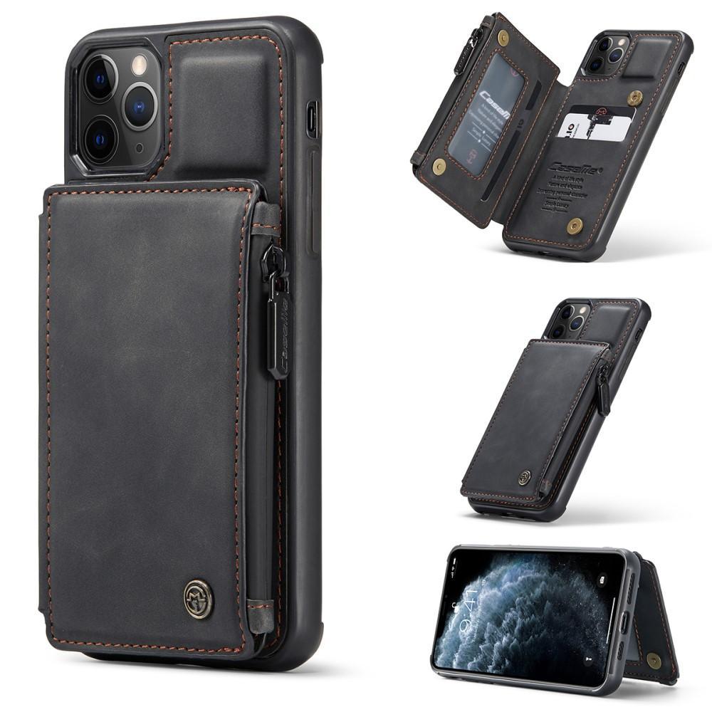 Multi-slot Skal iPhone 11 Pro Max svart