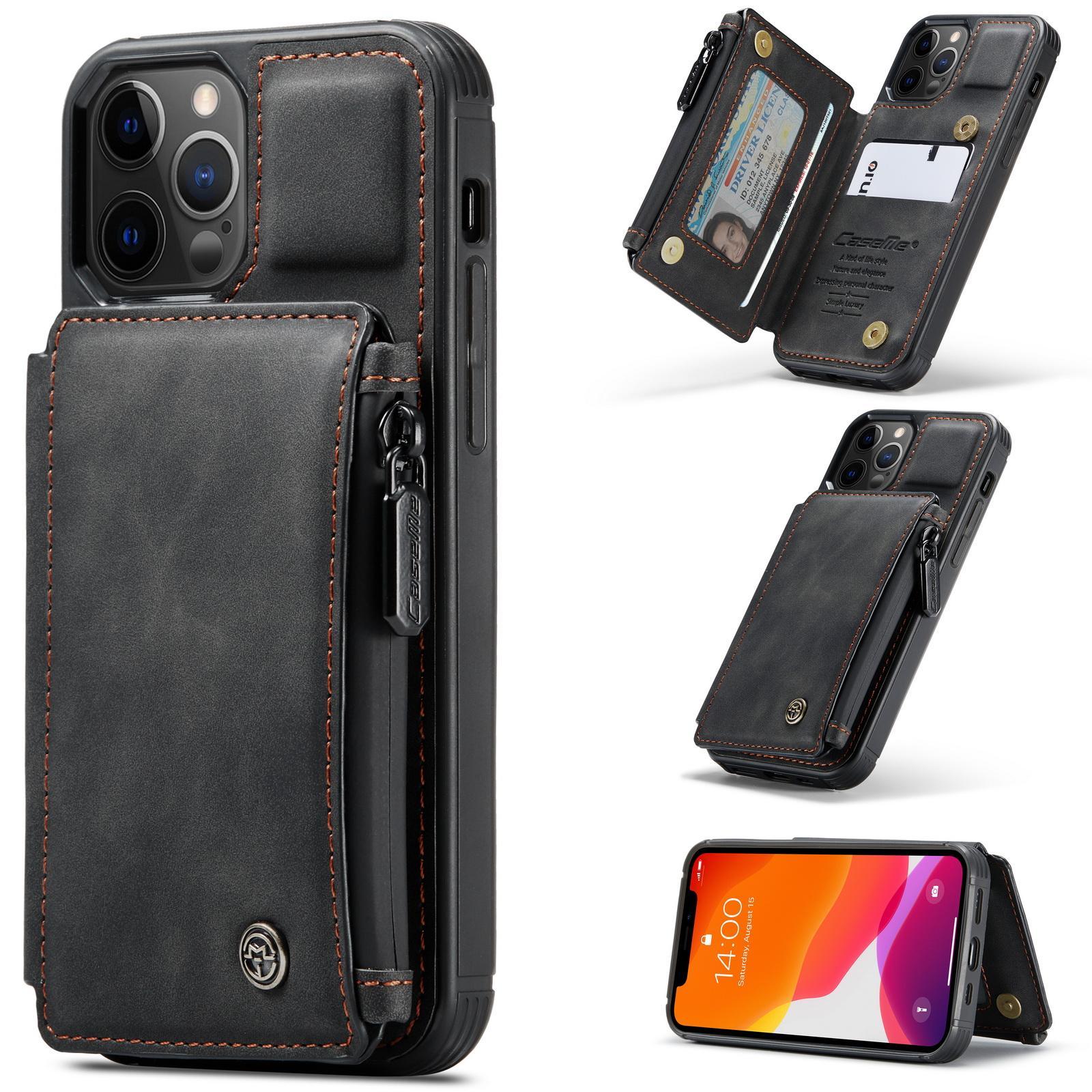 Multi-slot Skal iPhone 12/12 Pro svart
