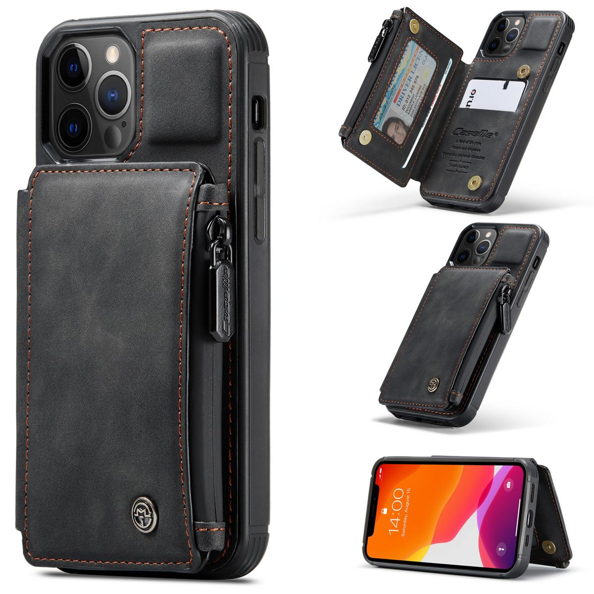 Multi-slot Skal iPhone 12 Pro Max svart