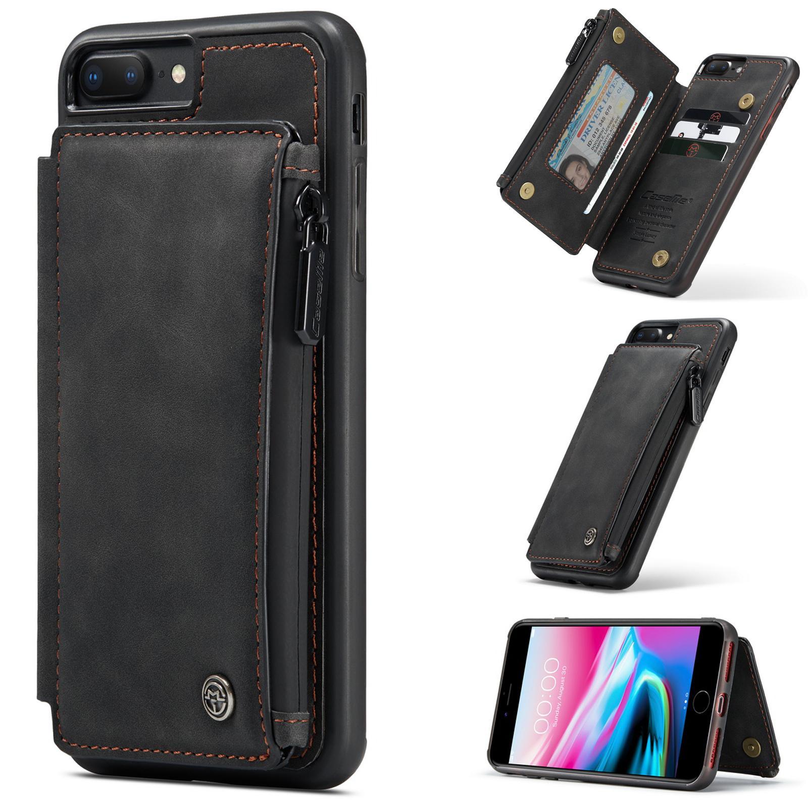 Multi-slot Skal iPhone 7 Plus/8 Plus svart
