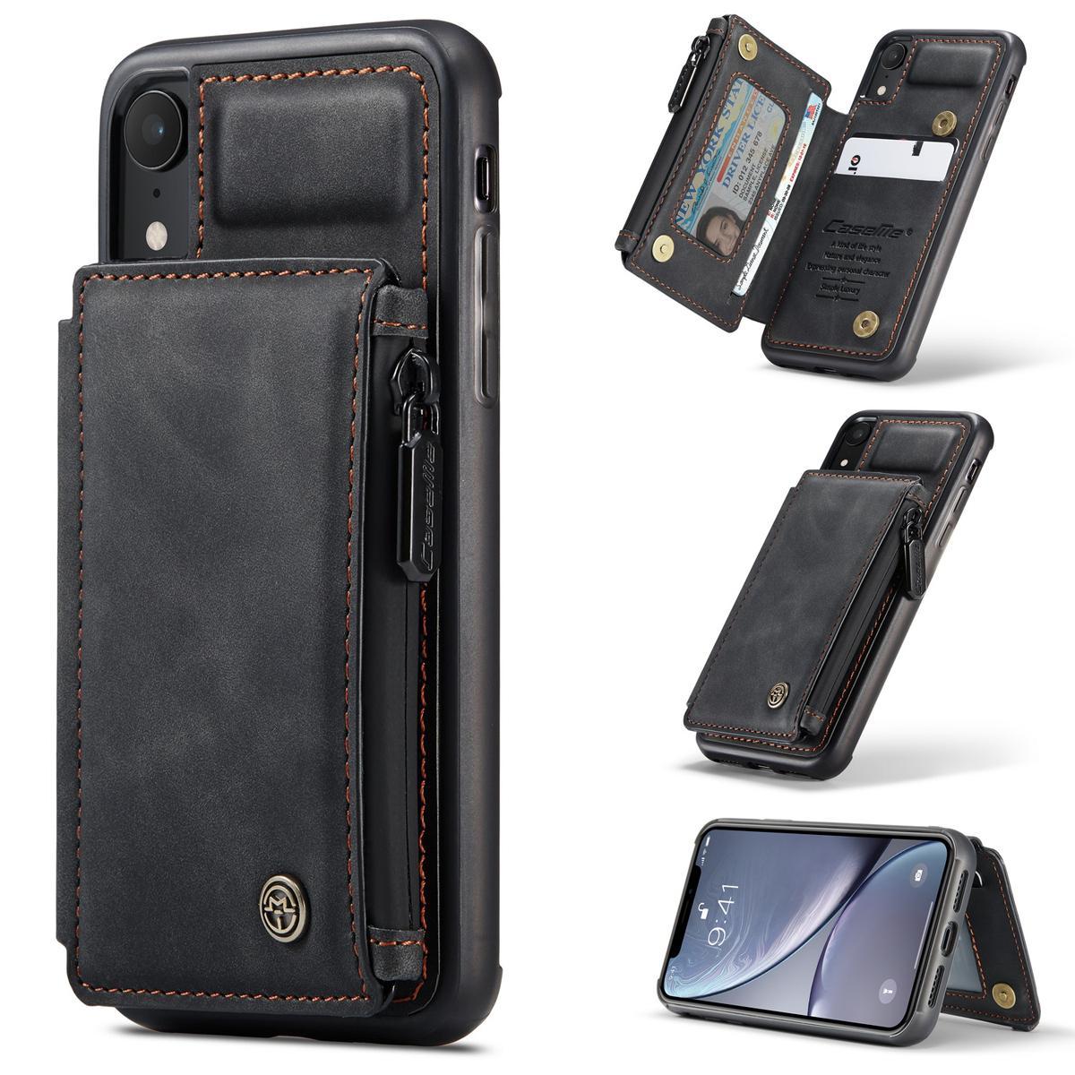 Multi-slot Skal iPhone XR svart