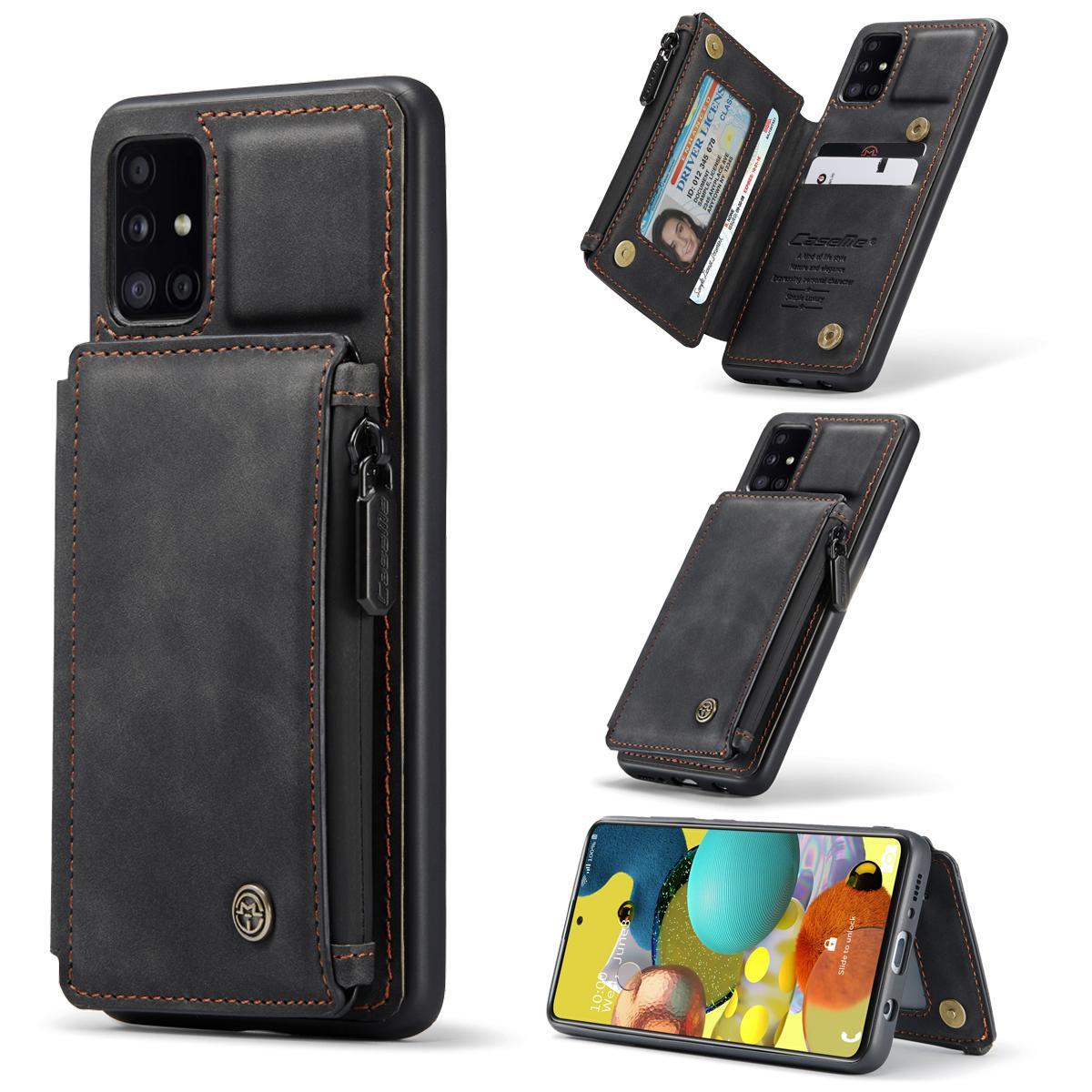 Multi-slot Skal Samsung Galaxy A51 svart