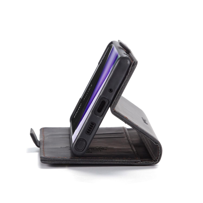 Slim Plånboksfodral Galaxy Note 20 Ultra svart