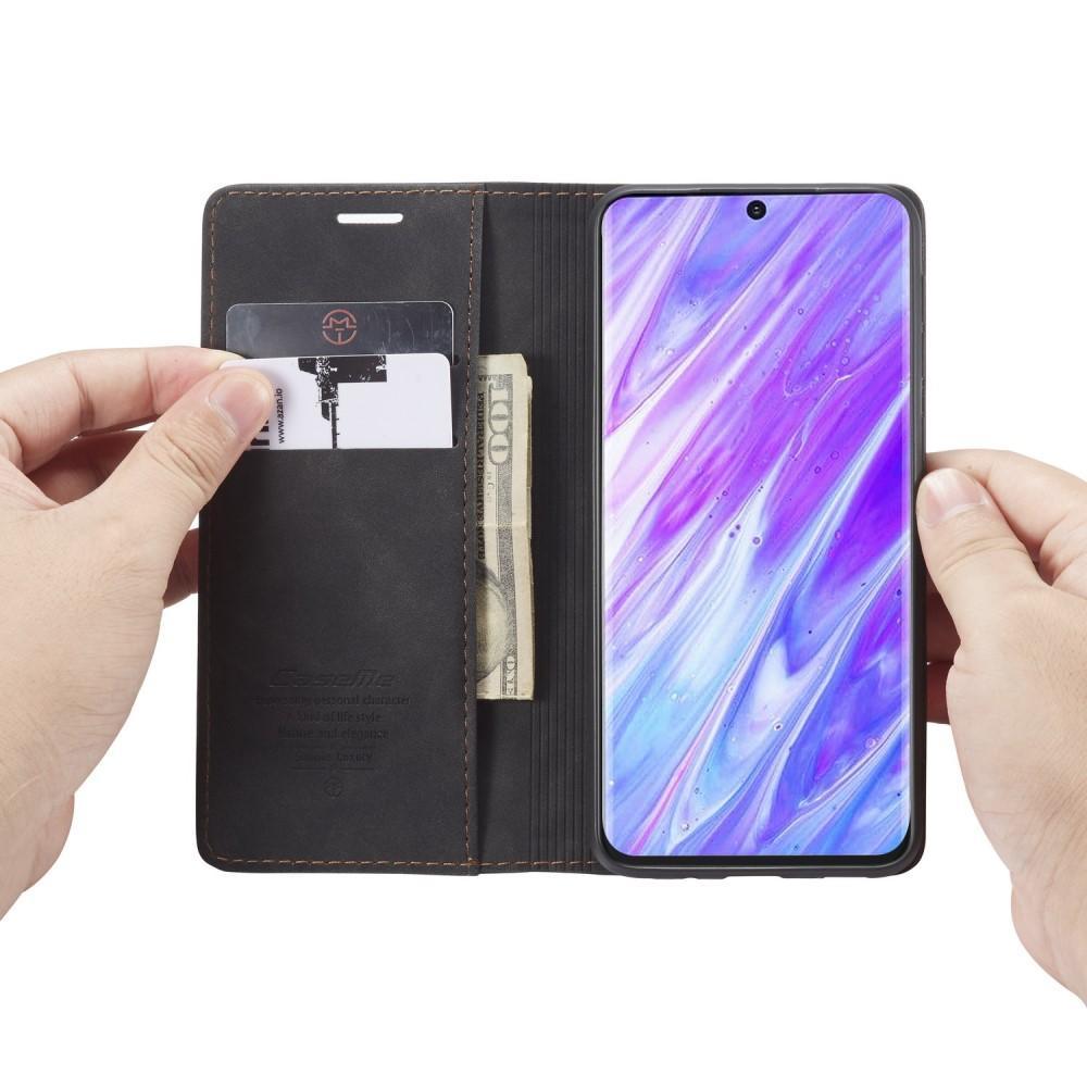 Slim Plånboksfodral Galaxy S20 Ultra svart