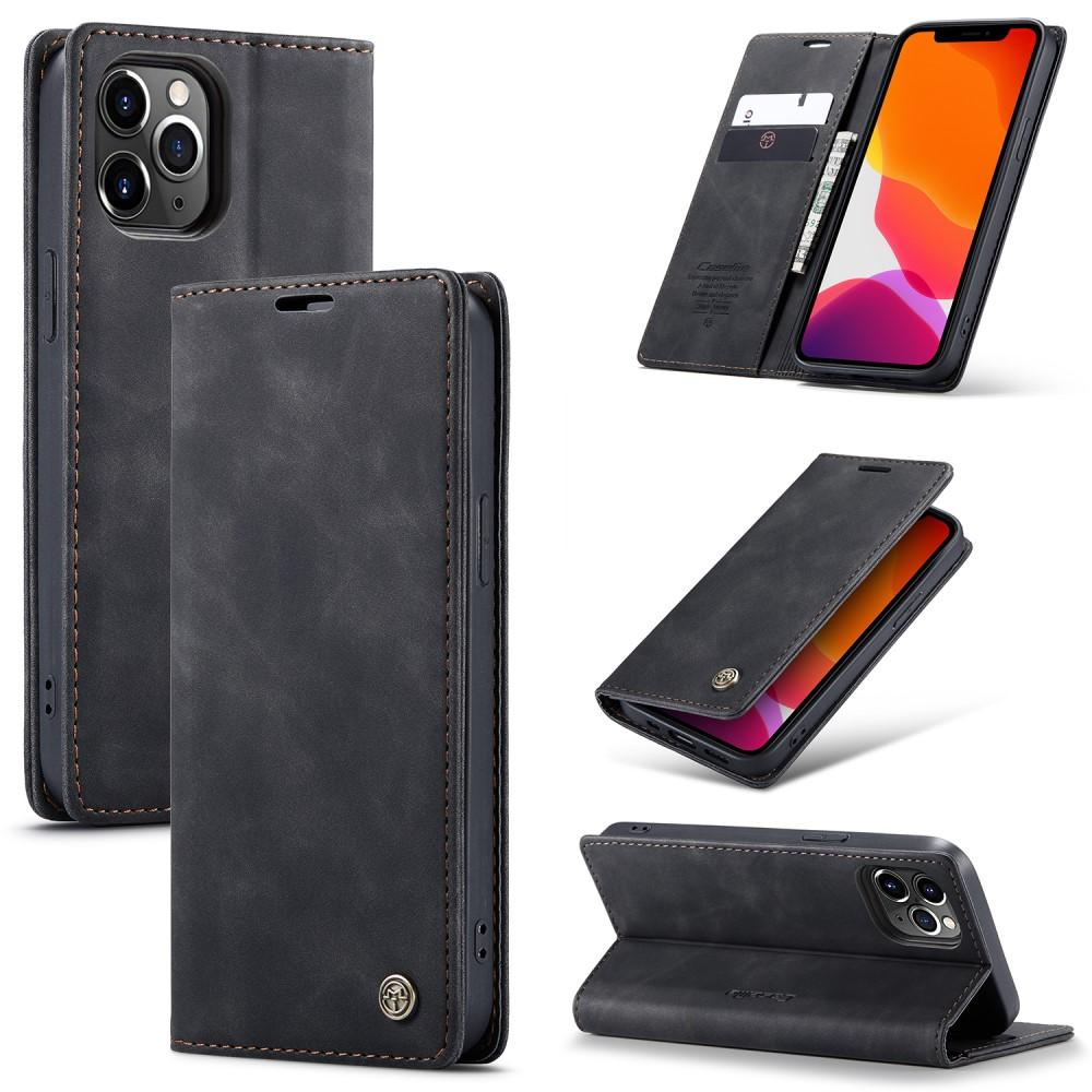 Slim Plånboksfodral iPhone 12 Pro Max svart