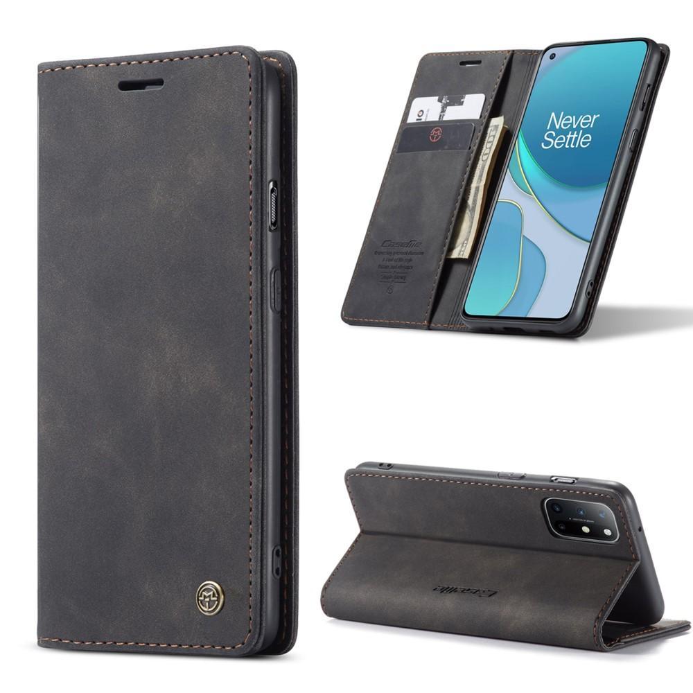Slim Plånboksfodral OnePlus 8T svart