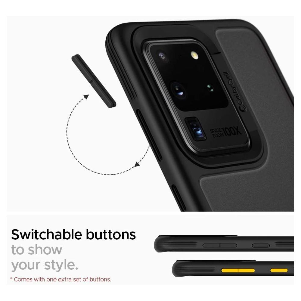 Galaxy S20 Ultra Case Color Brick Black