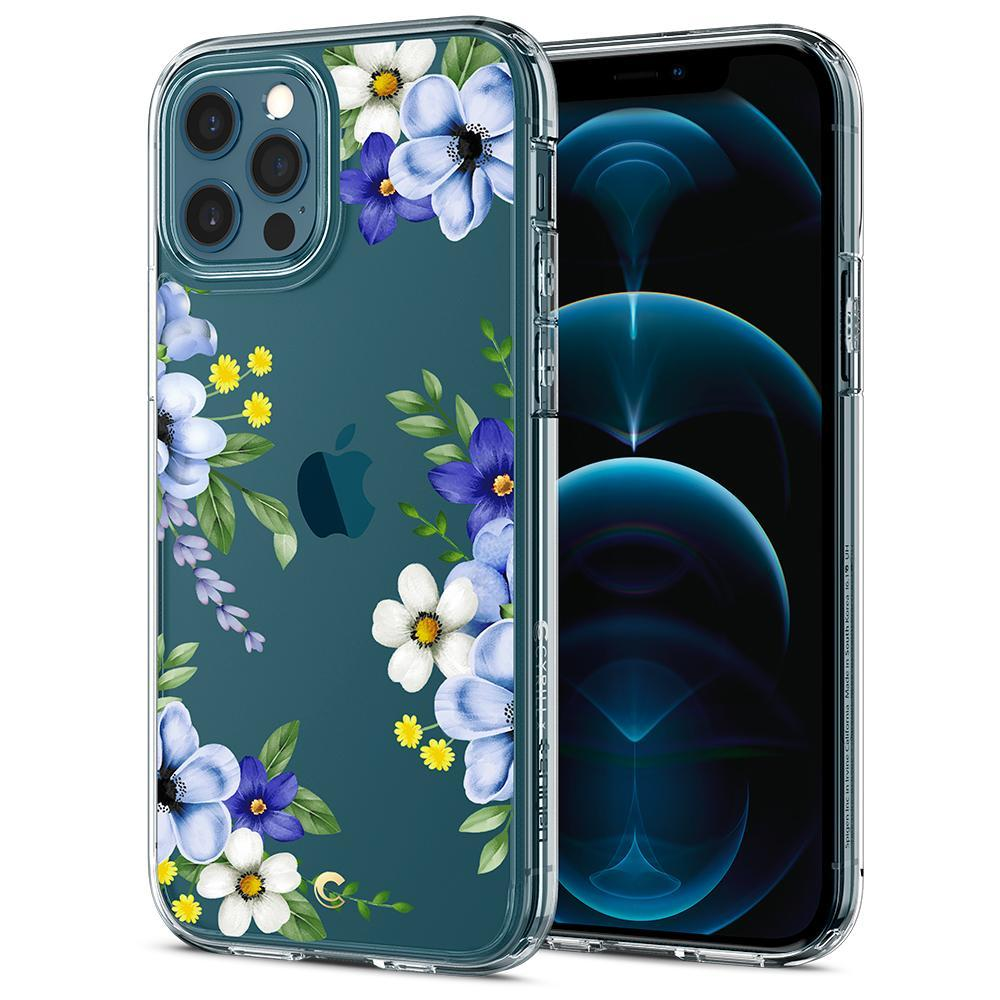 iPhone 12/12 Pro Case Cecile Midnight Bloom
