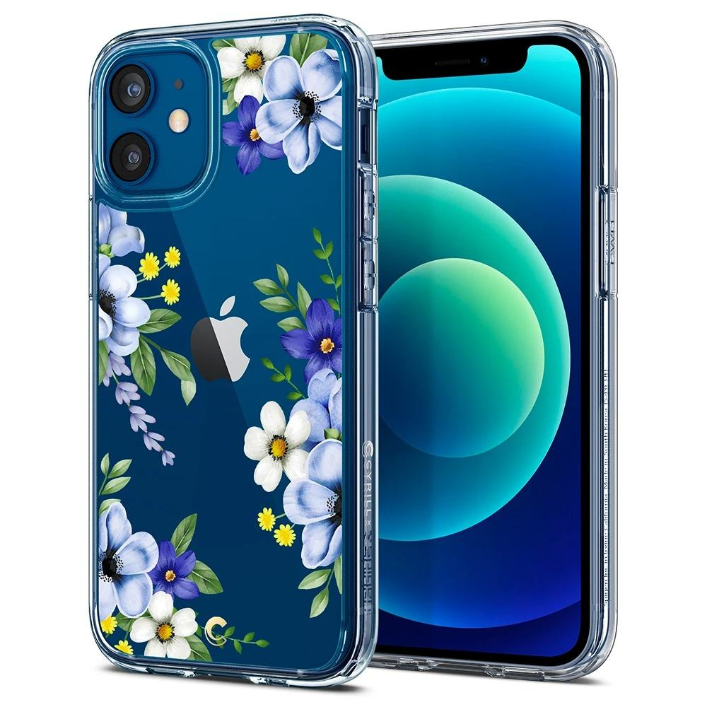 iPhone 12 Mini Case Cecile Midnight Bloom