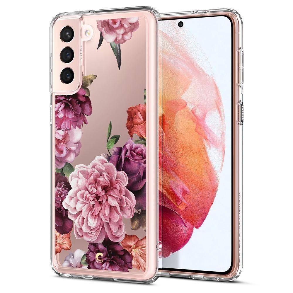 Samsung Galaxy S21 Case Cecile Rose Floral