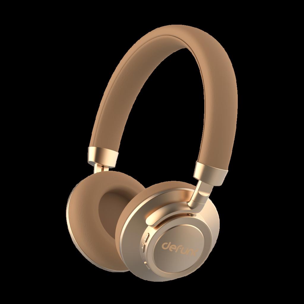 Bluetooth Headphone Plus Gold