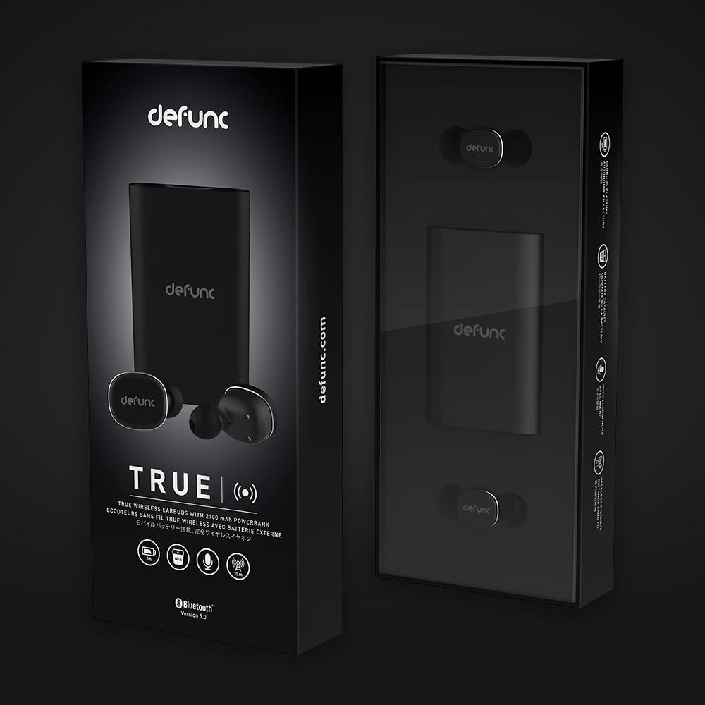 TRUE Wireless Earbuds Black