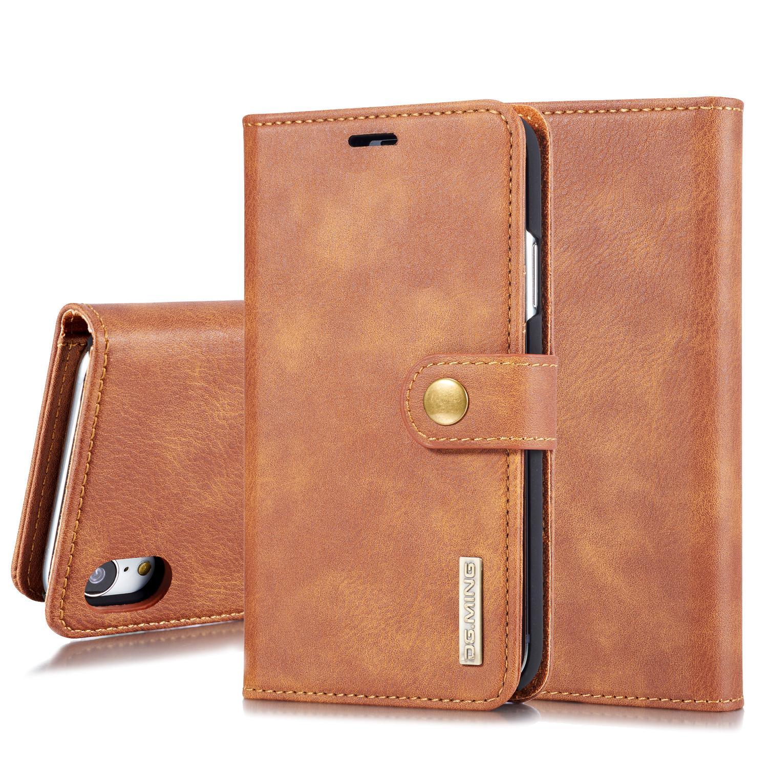Magnet Wallet Apple iPhone XR Cognac